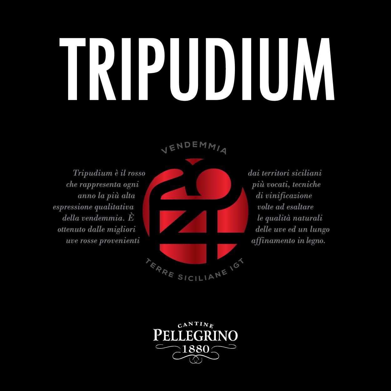 Tripudium - Dettaglio Etichetta