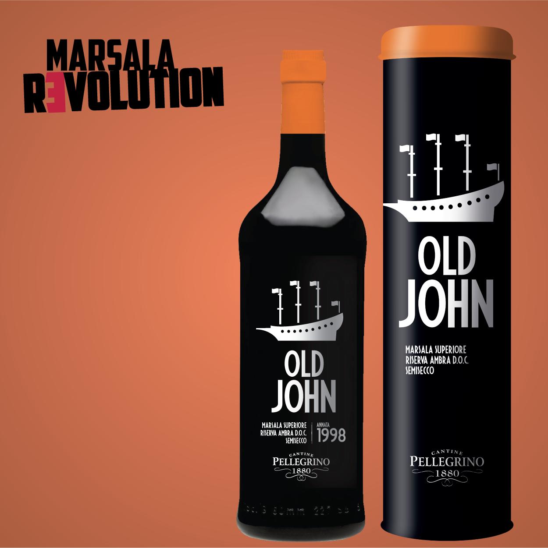 Old John - bottiglia e astuccio