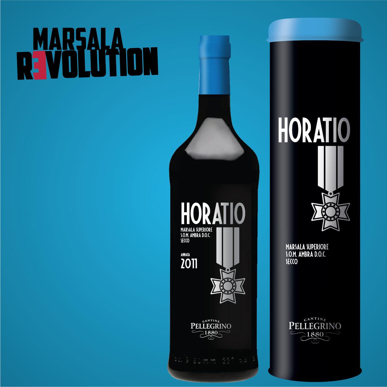 Horatio - bottiglia e astuccio