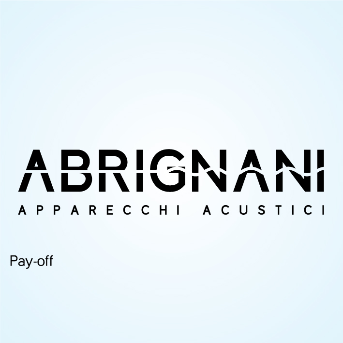 Abrignani Apparecchi Acustici - Logo + Payoff