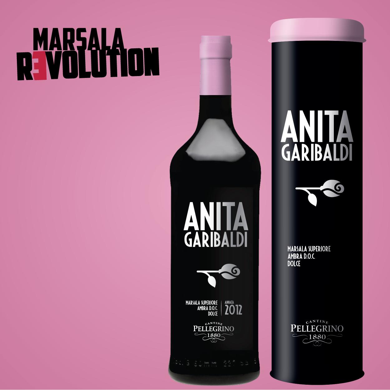 Anita Garibaldi - bottiglia e astuccio