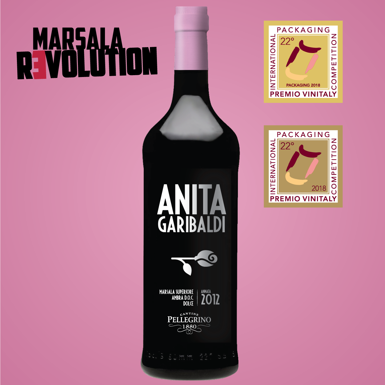 Anita Garibaldi - Etichetta d'Oro