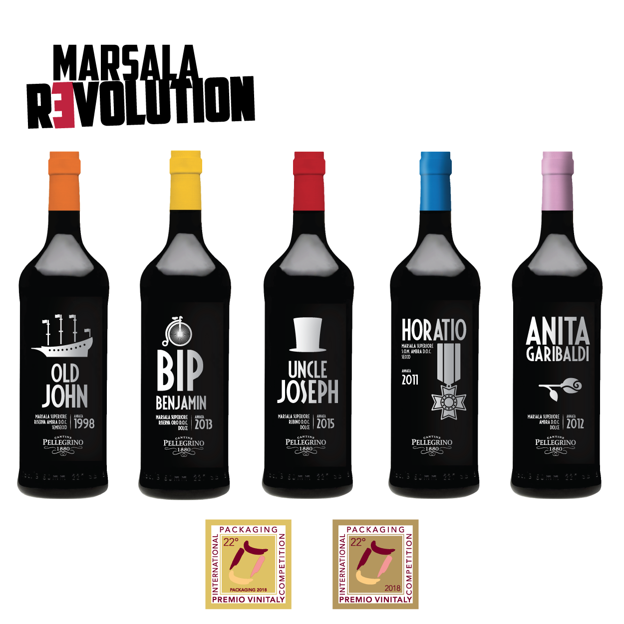 Marsala Revolution Serie - Premio Speciale Packaging 2018
